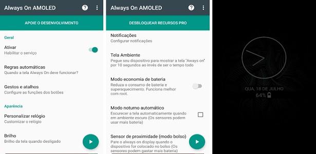 0f39c4029a8 Gosta de relógio e avisos  Aprenda a deixar a tela do Android sempre ...