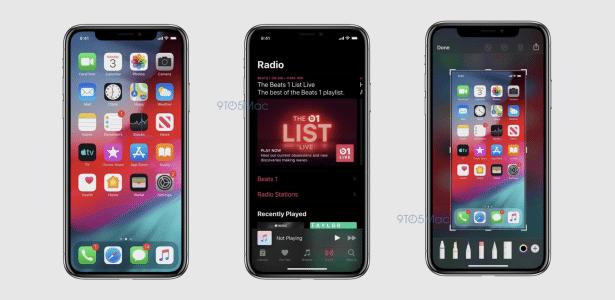 Veja as primeiras capturas de tela do iOS 13 e do novo macOS