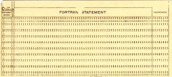 Imagem que mostra um cartão perfurado