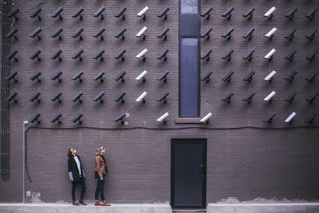 Foto de cameras de vigilancia