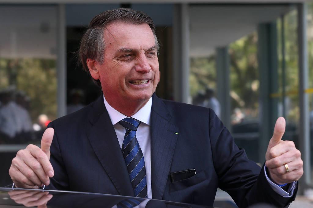 """Marketing em construção: Bolsonaro testa o estilo """"Jairzinho Paz e ..."""