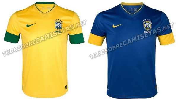Uma suposta nova camisa da seleção brasileira foi revelada pelo blog Todo  sobre Camisetas 1b2fb4749a238