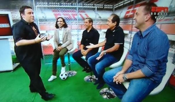 Resenha ESPN: programa começou com Rodrigo Rodrigues e Juan Pablo Sorín na apresentação