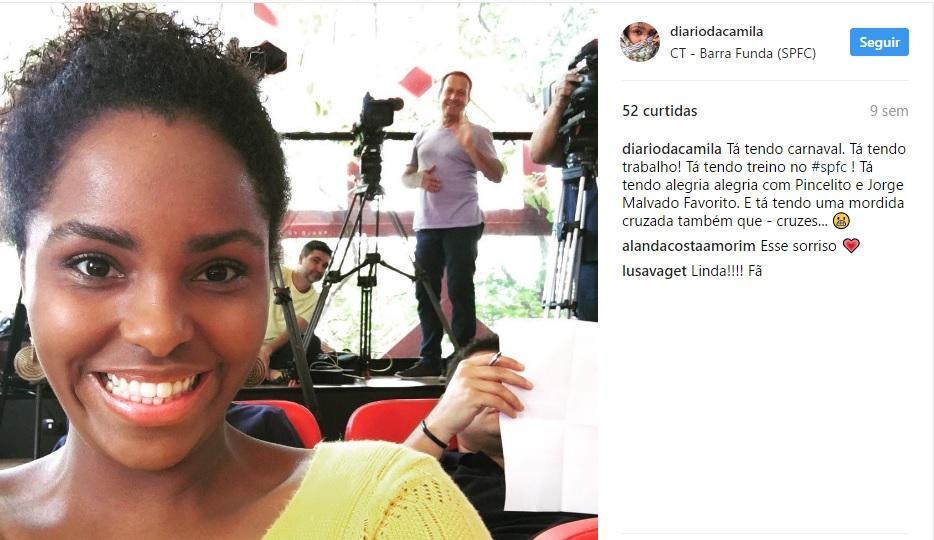 Repórter troca Globo News por esporte na Globo e se destaca com estilo leve 3f37aba9a3585
