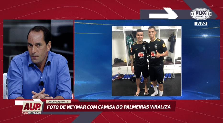 Edmundo  Neymar me disse há 5 anos que era palmeirense e pediu sigilo 6a61bd5087b9e