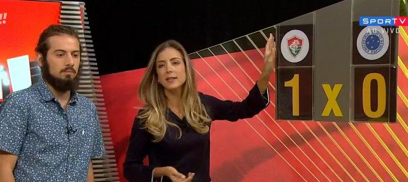 Apresentador do SporTV rebate torcedor do Flu   Mundo está muito ... 59108d2288140