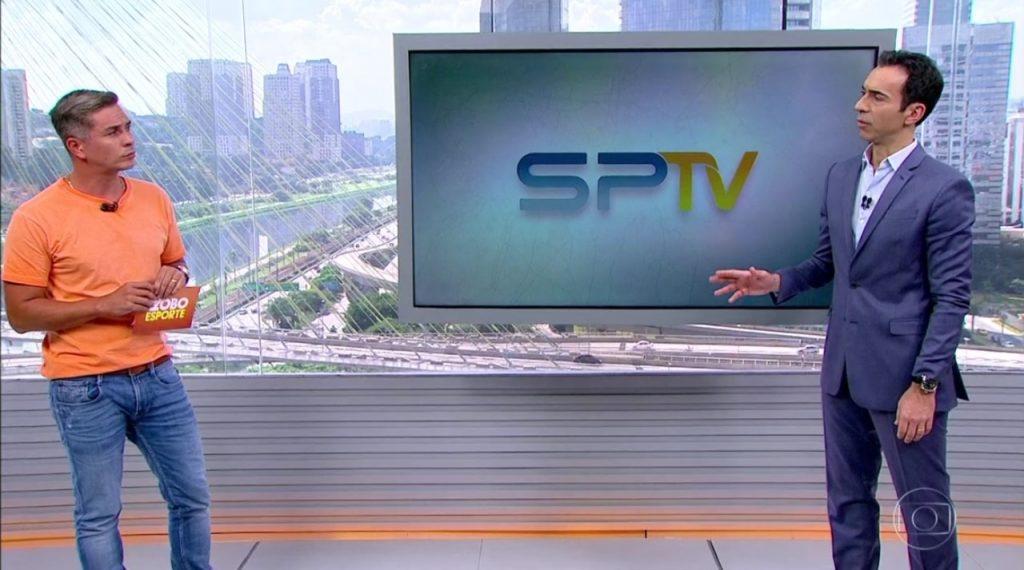 Ivan Moré apresenta Globo Esporte em estúdio do SPTV por tragédia em ... b82fc7ab3f0cf