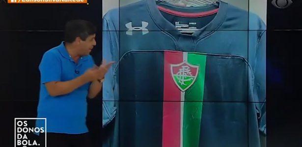 4f6bc26ea15b5 Jornalista da Band ataca camisa do Flu e gera polêmica   Coisa horrorosa  -  UOL Esporte