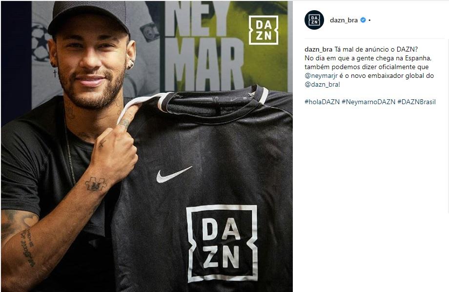 Dazn anuncia Neymar como embaixador global - 20 02 2027 - UOL Esporte edccb2bc3892b