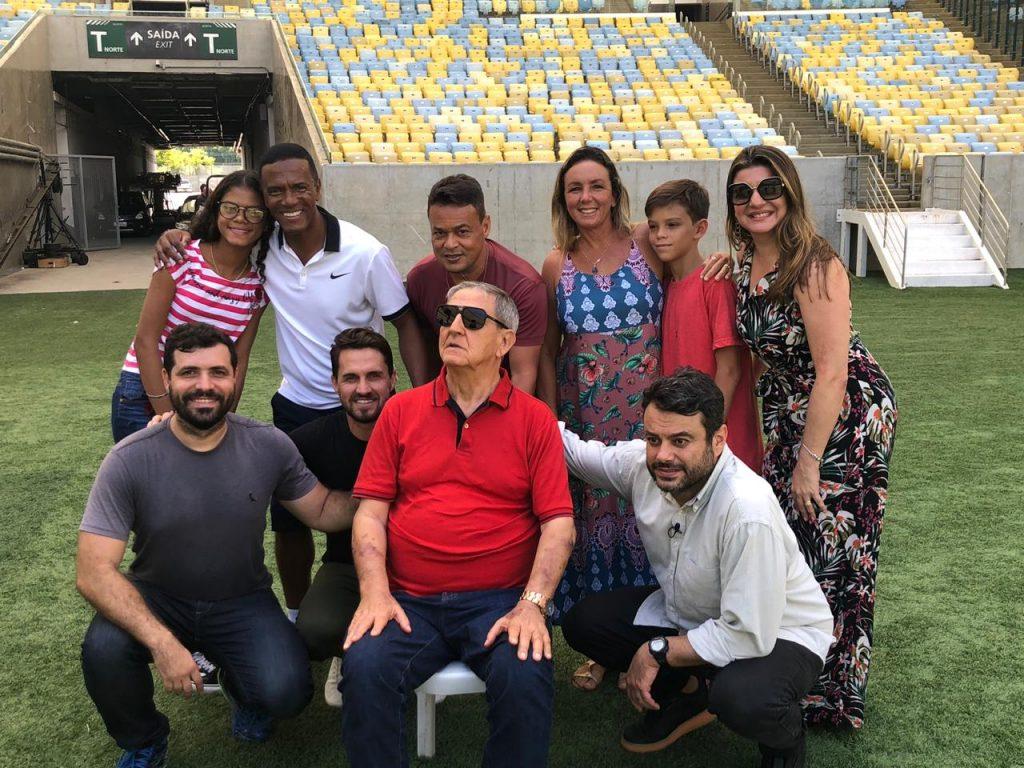 Globo Esporte RJ homenageia ex-narrador da Band com problema de saúde - UOL Esporte