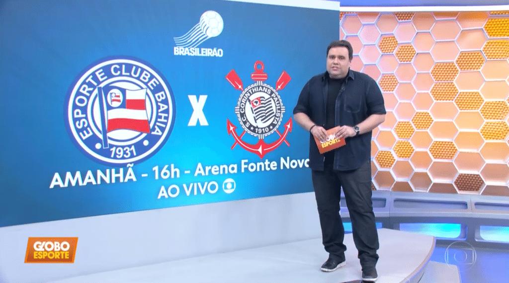 Rodrigo Rodrigues Estreia Como Apresentador Do Globo Esporte