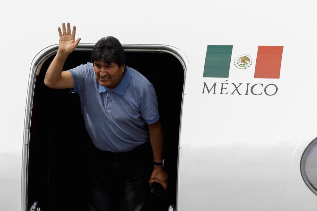 Evo Morales no México