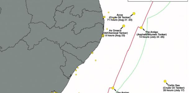 Desastre ambiental no litoral | ONG americana aponta novo navio suspeito de vazamento de óleo
