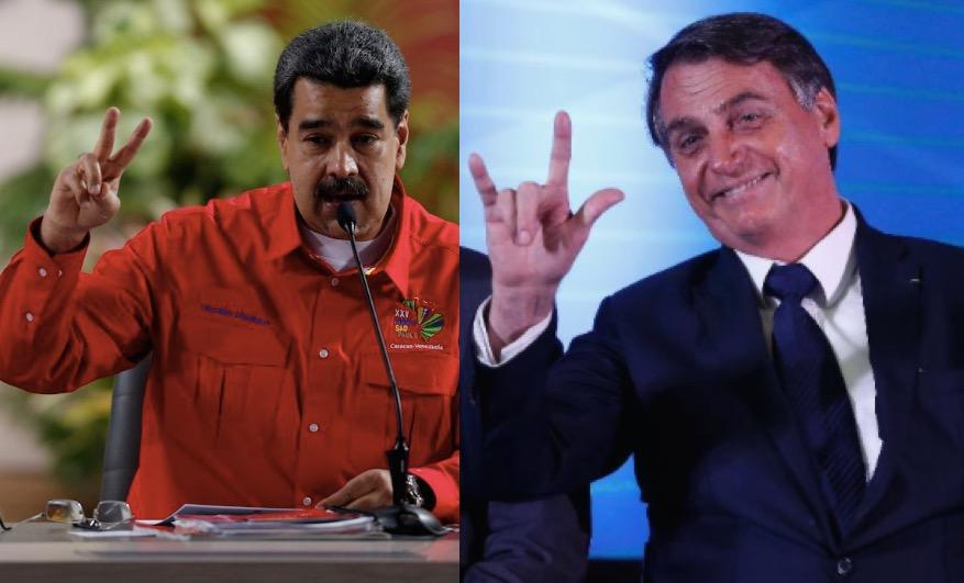 Maduro e Bolsonaro