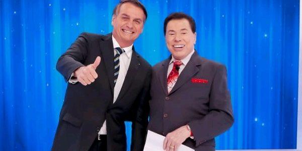 """Resultado de imagem para Bolsonaro fala de sexo para Silvio Santos: """"Estou na ativa, sem aditivos""""... - Veja mais em https://leodias.blogosfera.uol.com.br/2019/05/05/bolsonaro-fala-de-sexo-para-silvio-santos-estou-na-ativa-sem-aditivos/?cmpid=copiaecola"""