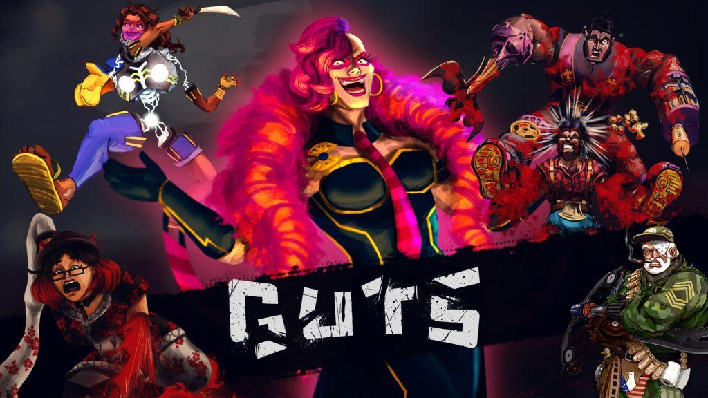 GUTS, game criado com recursos próprios e de edital