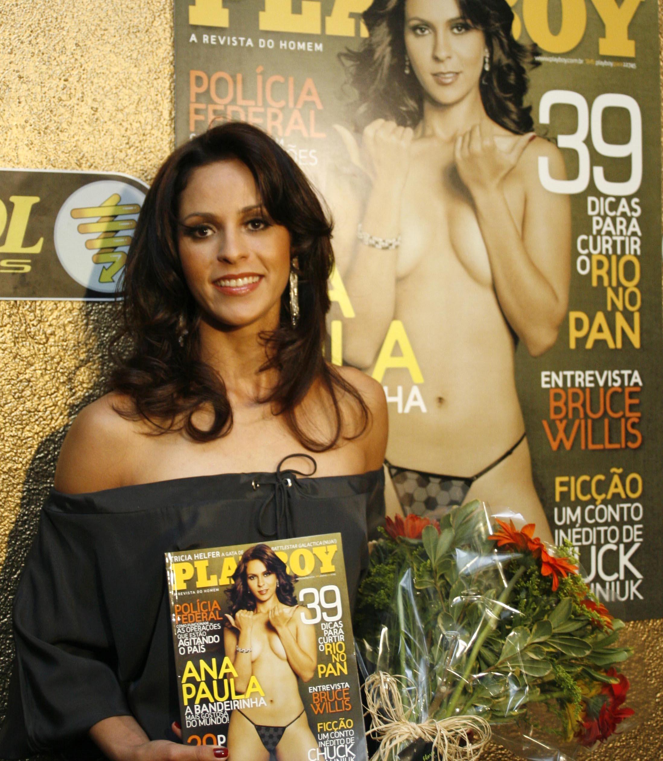 Sem Arrependimentos Por Posar Nua Ana Paula Oliveira Diz Quem A