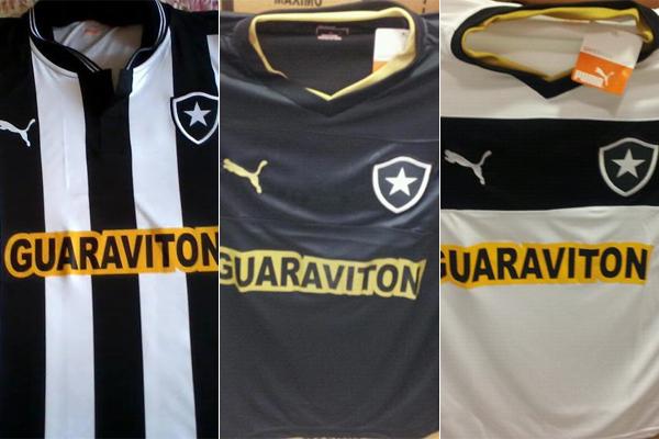 fd14e044fac45 Foto  Reprodução. Imagens da suposta nova camisa do Botafogo ...
