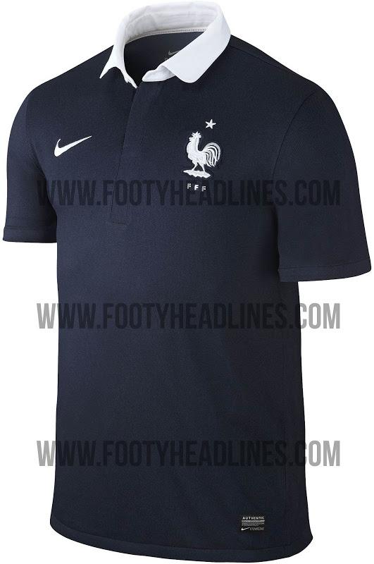 99d7627e99396 Camisa da França para Copa vaza no dia em que seleção pode ser ...
