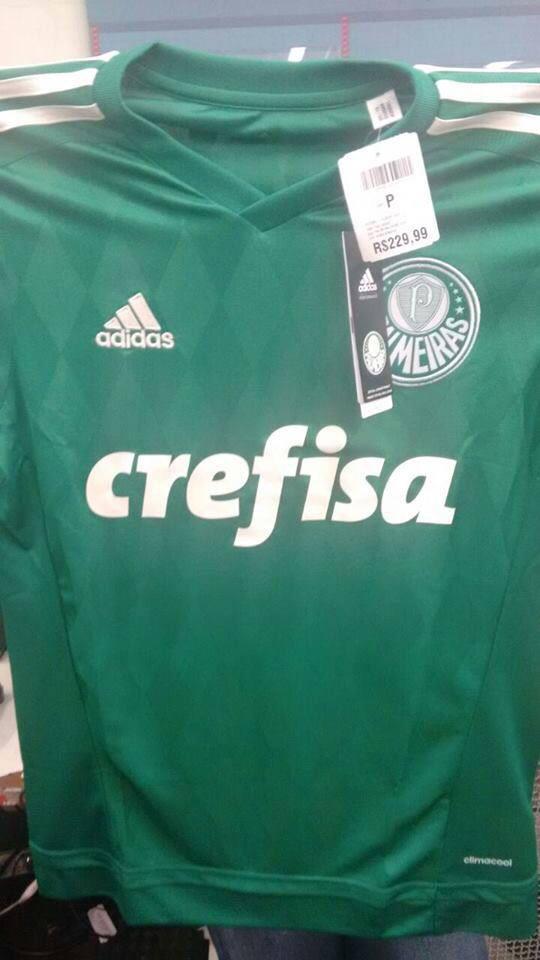 Crédito  Reprodução. Crédito  Reprodução. Uma foto da suposta nova camisa  do Palmeiras está circulando na internet. 5a3f1e08c46bb
