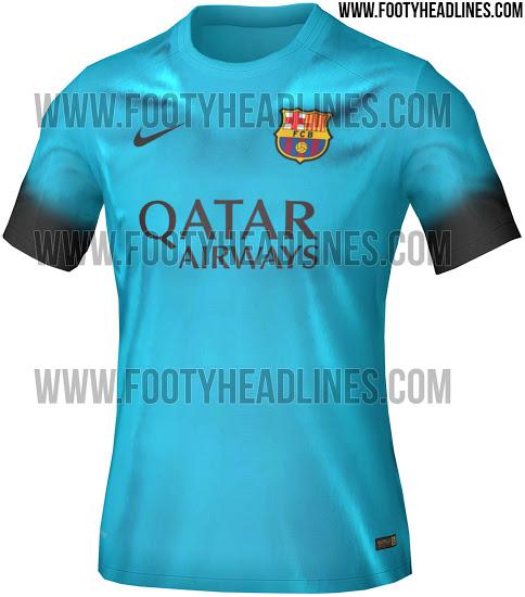 306e41e1bc Site vaza possível nova terceira camisa do Barcelona - 20 05 2028 ...