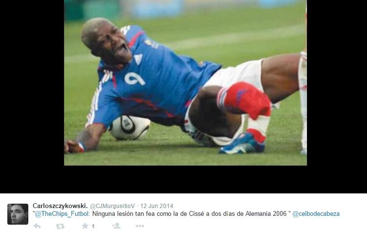 10 lesões impressionantes no futebol. Tirem as crianças da sala - 20 ... 9cd8e4fad0b6c