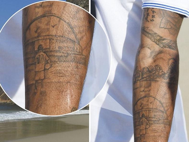 fam lia rev lver michael jackson tatuagens famosas dos