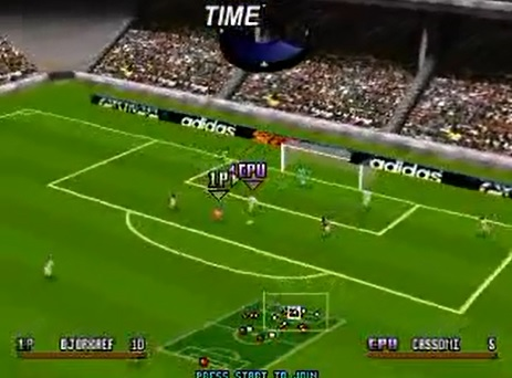 game adidas power soccer