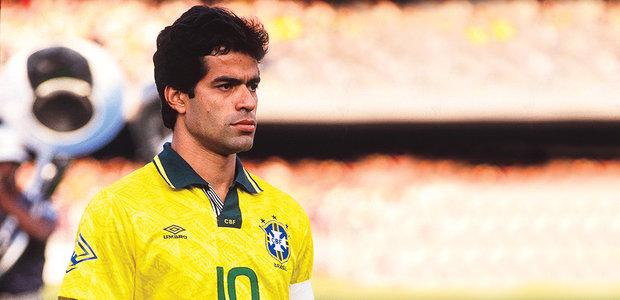 bf54feb6de Comemoração  Bebeto marcou a Copa do Mundo de 1994 com sua comemoração