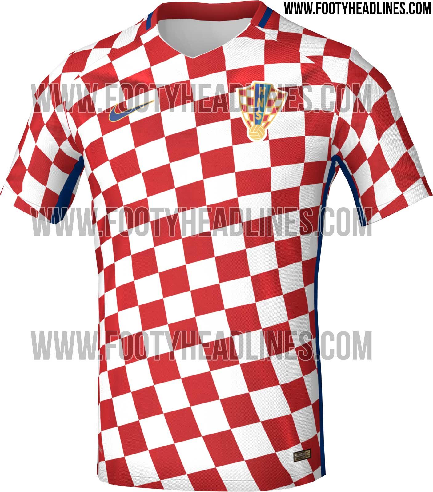 39216a5a32 Sites exibem possíveis camisas de França e Croácia para a Euro 2016 ...