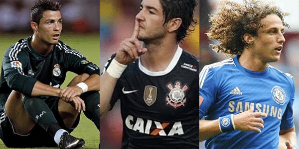 Por que o Cristiano Ronaldo e o Alexandre Pato estão usando uma  munhequeira c82f23a3a326d