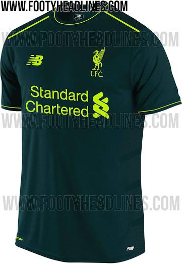 Vaza Uniforme Do Liverpool Para Proxima Temporada E Ele E Verde Uol Esporte