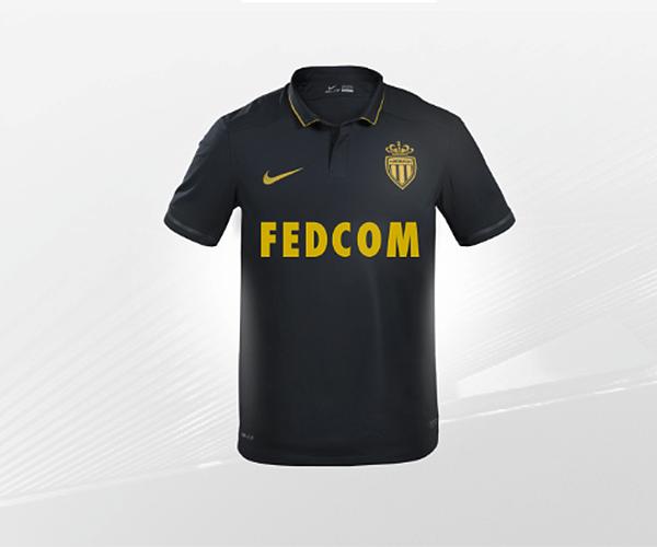 2851e416cf Esta camisa é do segundo uniforme que o Monaco usou na temporada passada