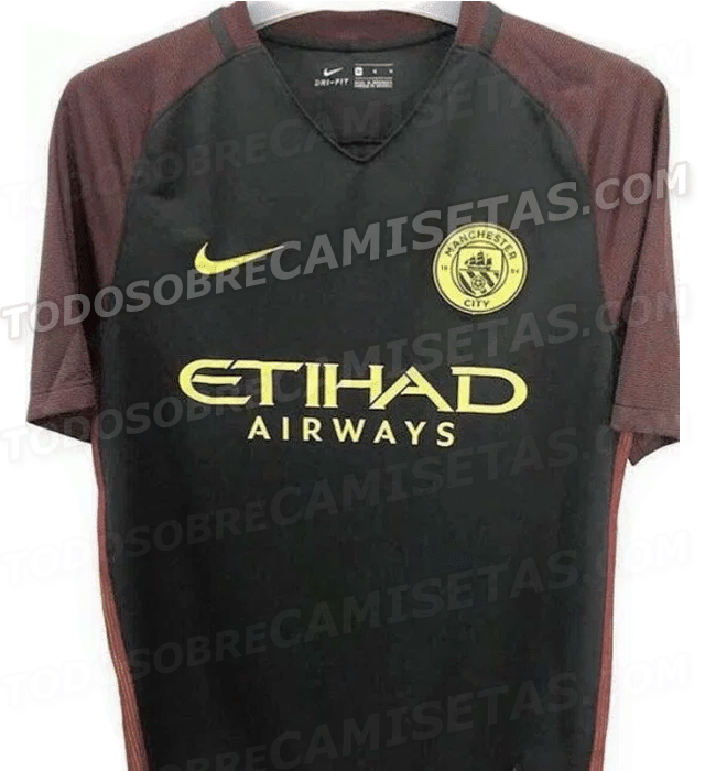 manchester city uniformes 2016