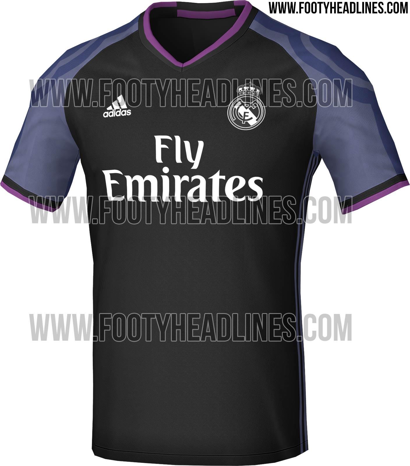 Site vaza suposta camisa do Real Madrid para próxima temporada - UOL ... 9d292659bee