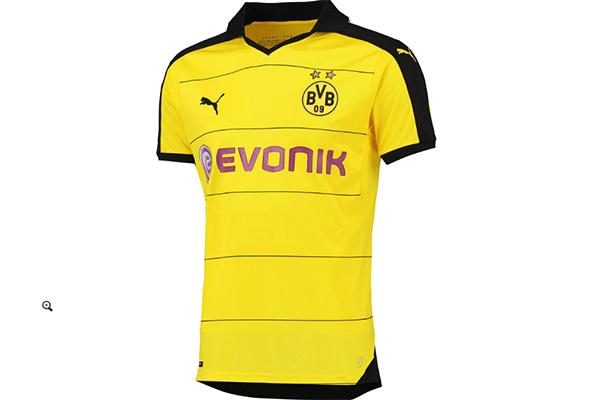 A nova camisa oficial de jogo do Borussia Dortmund é a mais cara de todas.  Mas 5e6df27d6d482
