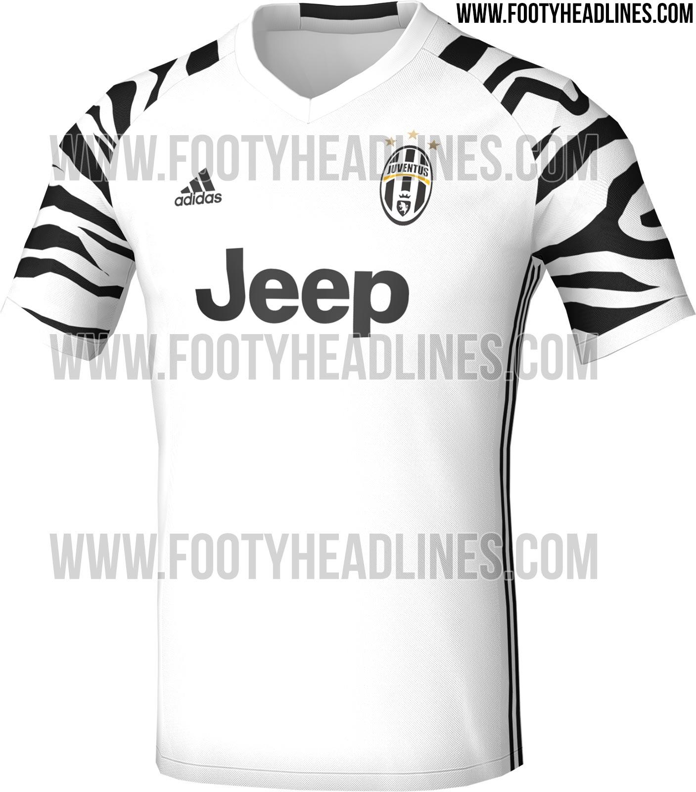 bce652b78d Terceira camisa da Juventus terá estampa de zebra nas mangas  veja ...