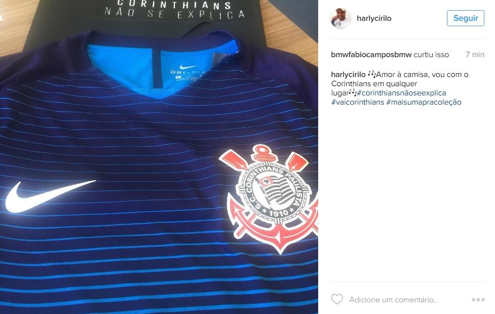 Corinthians divulga terceiro uniforme e batiza de