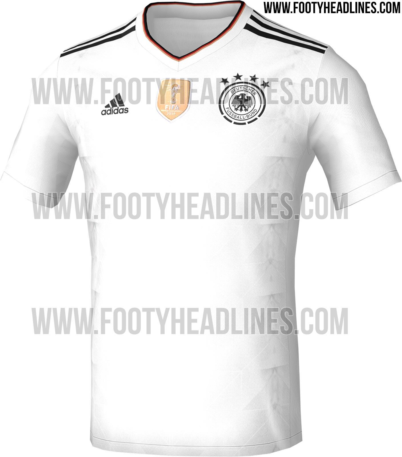 6fb38e5c9f Vaza camisa da Alemanha para a disputa da Copa das Confederações ...