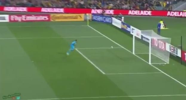 262a5fda01 Arábia Saudita perde para a Austrália com falha clamorosa do goleiro ...