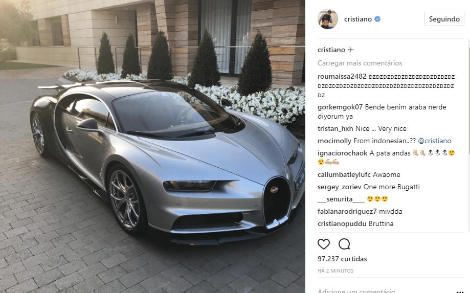 Bugatti Chiron Png >> Cristiano Ronaldo coleciona fortuna em mais de 20 carros; veja modelos - 20/10/2007 - UOL Esporte