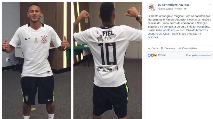 Palmeiras não é o único  5 vezes que Neymar já