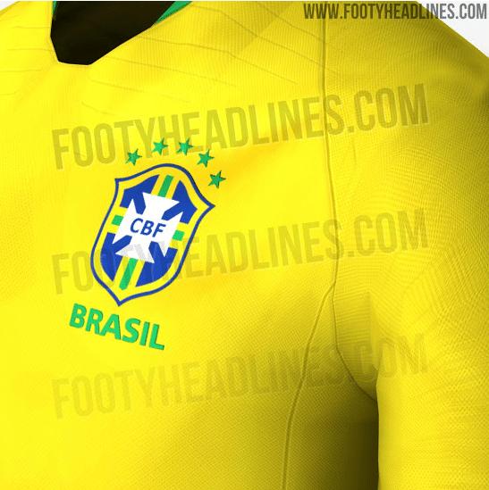Site vaza suposta camisa da seleção brasileira para a Copa do Mundo ... 3574d25018538