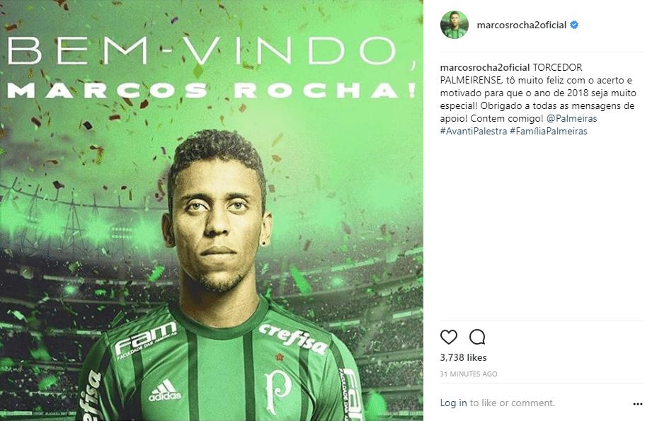 Marcos Rocha se despede do Atlético-MG e comemora acerto com o Palmeiras 0b8048344ffc5