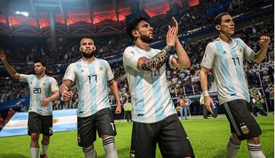 ... está o modo 2018 FIFA World Cup Russia no qual você pode escolher uma  das 32 seleções qualificadas para o Mundial e jogar desde a fase de grupos  até ... 05468d4cec155