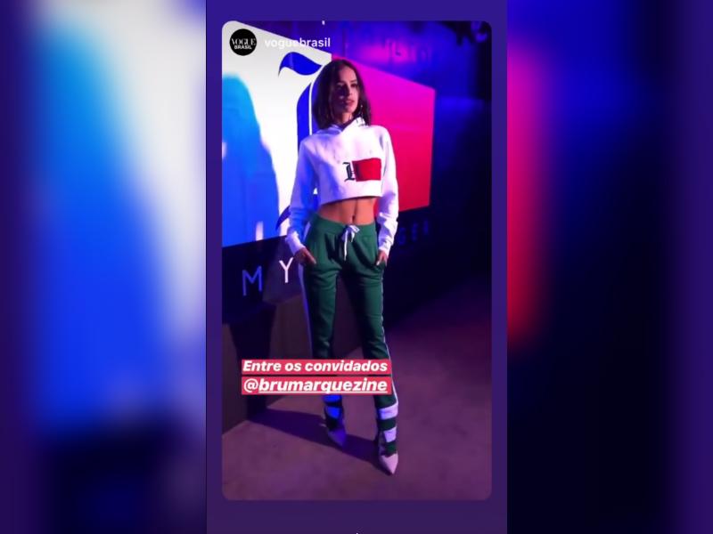 52daf0627 A namorada de Neymar é uma das convidadas do piloto de Fórmula 1 Lewis  Hamilton no lançamento de sua coleção para a Tommy ...