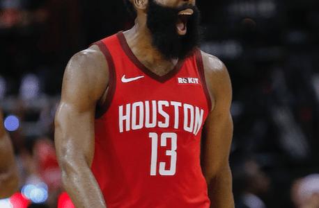 a774a8a57 Ninguém segura o Barba  James Harden dá vitória ao Rockets contra o  Warriors na prorrogação - UOL Esporte