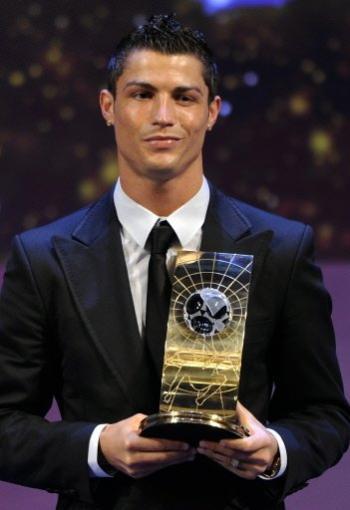 Ronaldo já foi eleito melhor do mundo em 2008