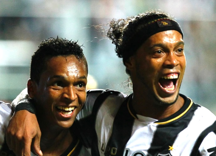 A dupla Jô e Ronaldinho fez uma excelente temporada em 2013