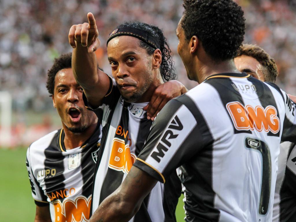 Ronaldinho Gaúcho é a estrela do Atlético nesse Mundial de Clubes